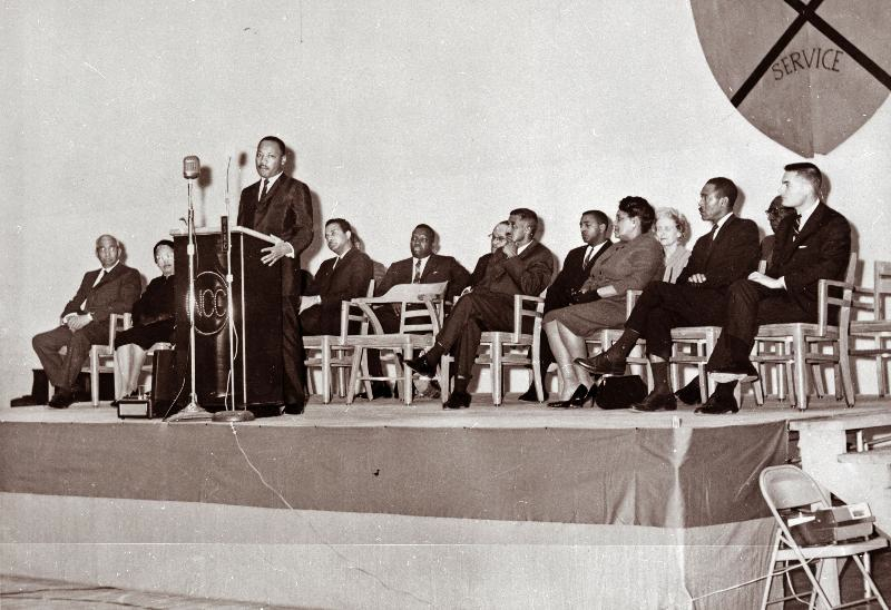 martin luther king jr 's persuasion in Martin luther king, jr, (january 15, 1929-april 4, 1968) was born michael luther king, jr, but later had his name changed to martin his grandfather began the family's long tenure as pastors of .