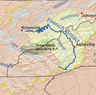 Data: Water quality permit violations in the French Broad River ...