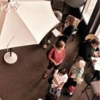 Reader photo by Melinda Stuart. Reuter Center, UNCA, College for Seniors registrants