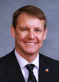 Rep. Mike Hager, a Republican from Rutherfordton