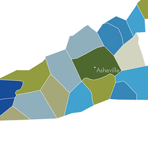 Western North Carolina population