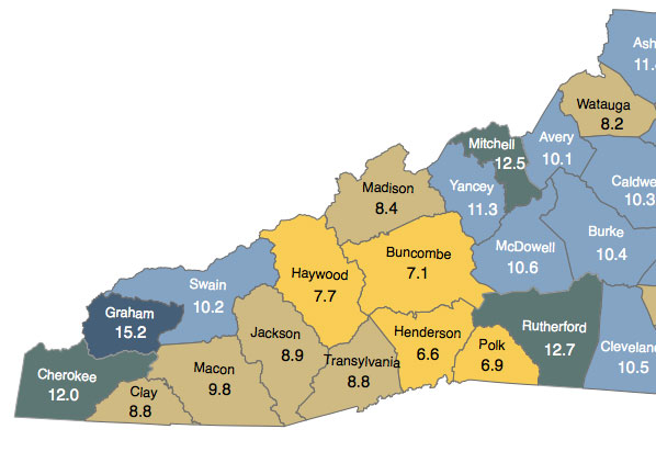 map of nc counties and cities with 8 Wnc Counties Post Double Digit Unemployment on Where Is Lansing in addition Codata together with 8 Wnc Counties Post Double Digit Unemployment additionally Oregon National Parks likewise Richmond.
