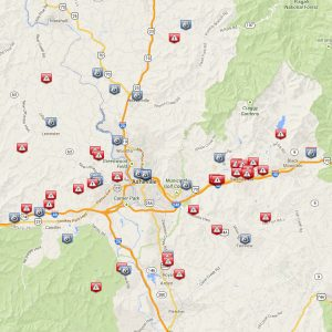 Buncombe crime map