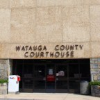 Watauga County Courthouse, pictured in September 2012. Hank Shell/Carolina Public Press