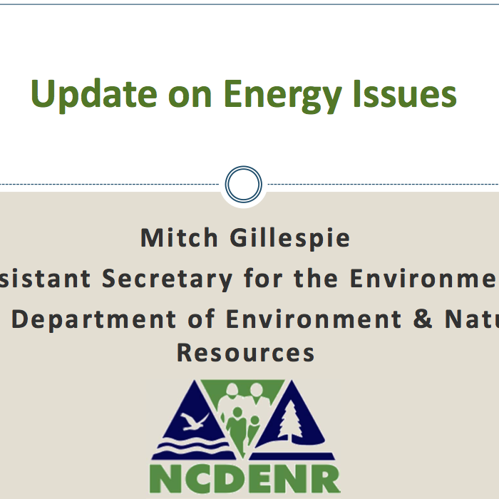 Department Of Environment And Natural Resources Nc