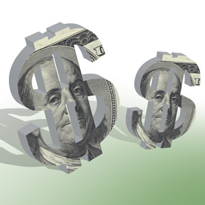 Salaries of top county employees