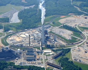 Duke Energy's Cliffside Steam Station, located in Rutherford County, is pictured here in an archive photo from 2011. Image courtesy of Duke Energy.