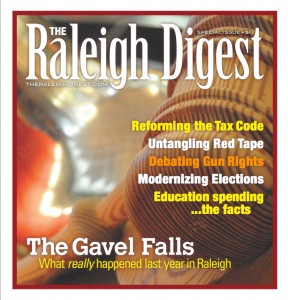 Raleigh Digest cover