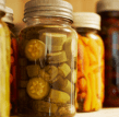 Stock image: canned food, preserved food