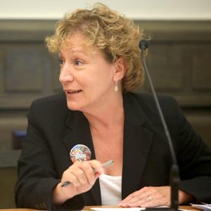 Asheville City Council member Gwen Wisler