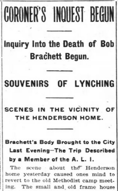 WNC's lynchings: New study sheds light on a once-pervasive