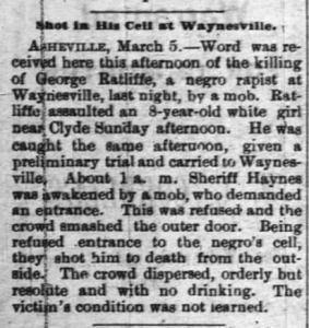Concord Times, March 8, 1900
