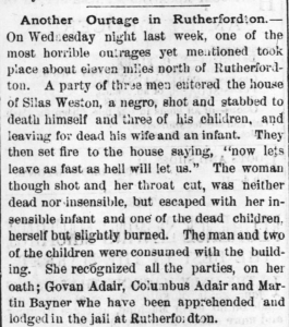Raleigh Daily Telegram May 4 1871