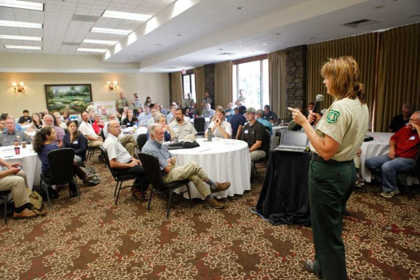 Advocates, forest managers debate national forest logging
