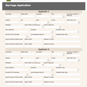 Where Can I Get a Marriage License in Buncombe County, North Carolina?