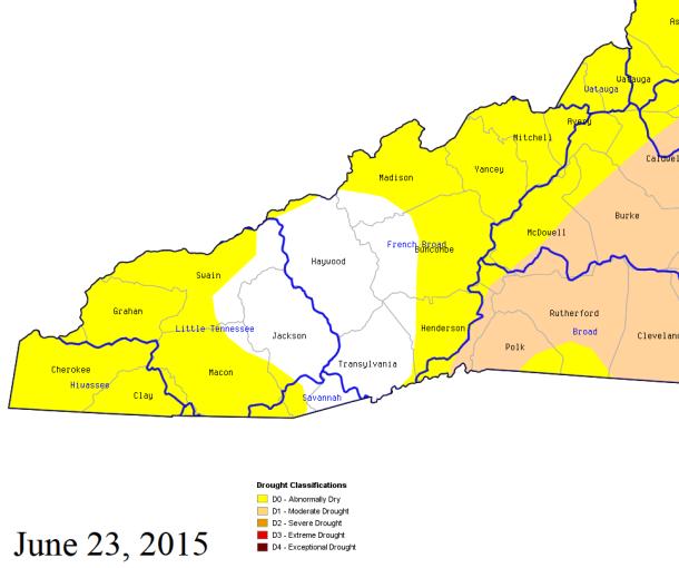 Hot weather, lack of rain brings drought back to NC - Carolina ...
