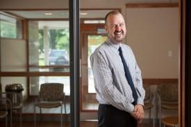 Nic Apostoleris is director of the new Appalachian Mountain Community Health Centers.