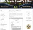 Polk sheriff graffic