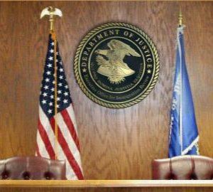 U.S. immigration court bench.