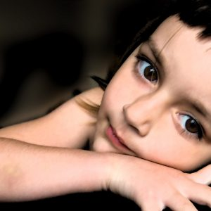 Stock image of young child