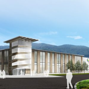 Artist's rendering of Avidim Technologies facility planned for Black Mountain.
