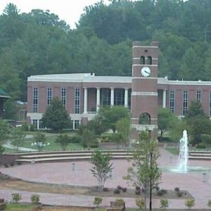 Western Carolina University in Cullowhee.