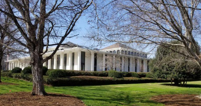 State Legislative Building. Budget impasse.