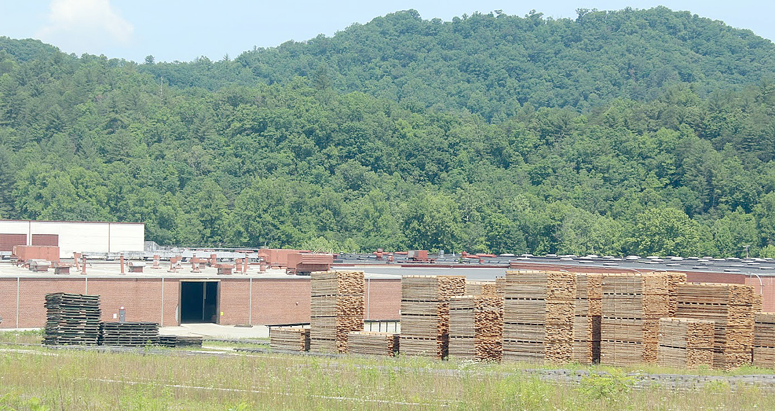 The Oak Valley Hardwoods plant in Graham County. The manufacturing sector in North Carolina may be in for a round of economic disruption due to the coronavirus pandemic.