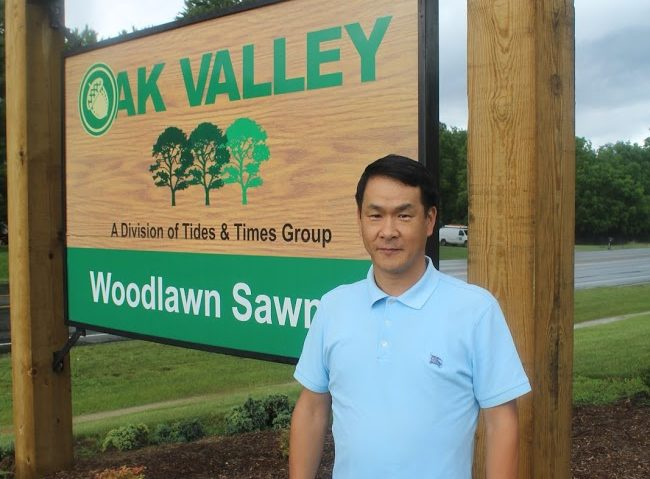 Jimmy Lee of Oak Valley Hardwoods
