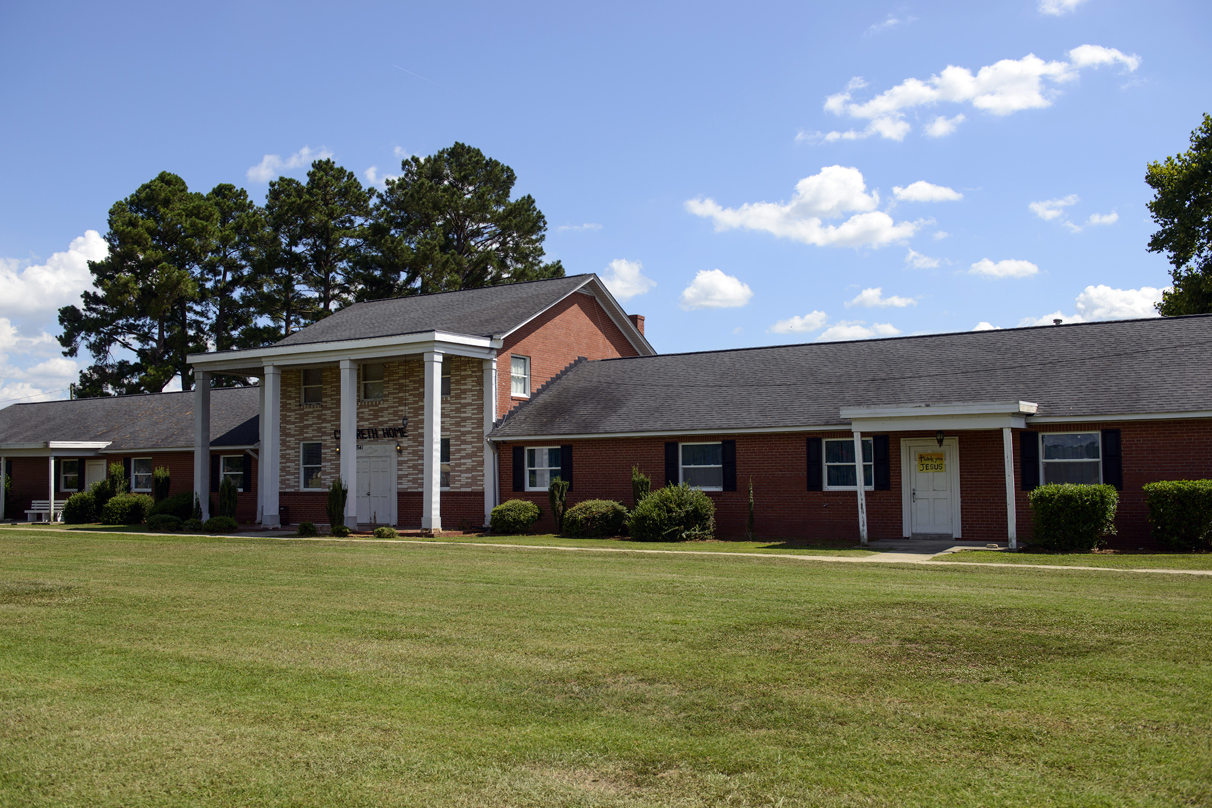 Falcon Children's Home in Falcon, NC, located in northeastern Cumberland County.