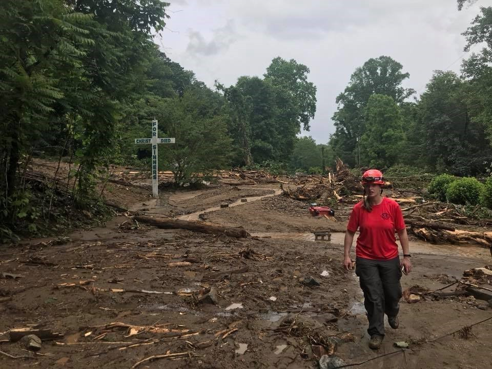 Mudslide in Polk County, May 2018