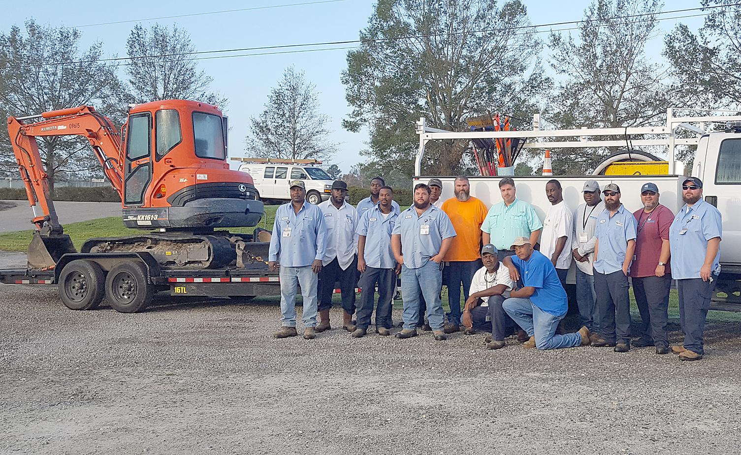 Cape Fear Public Utility Authority staff