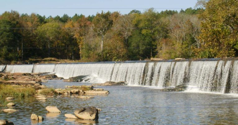 Haw River near Pittsboro has issue with chemicals.