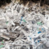 Image of shredded documents
