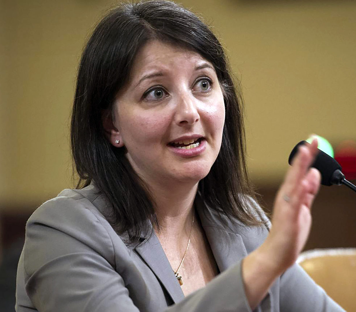 Dr. Mandy Cohen, North Carolina Department of Health and Human Services secretary, seen here in a 2019 appearance, has announced plans to let hospitals request additional beds due to the spread of coronavirus in North Carolina. Photo courtesy of DHHS.