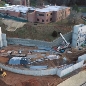 Southwest Community College new building going up with grants from foundations.