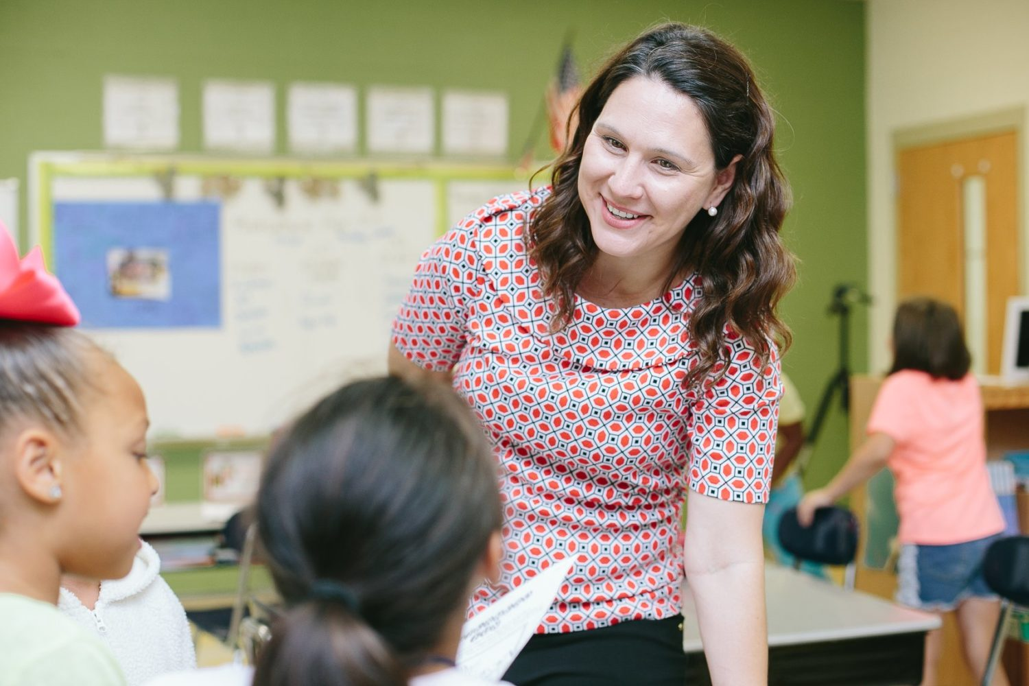 Mariah Morris, North Carolina's 2019 Teacher of the Year, has developed online teaching materials that she's sharing with others to help students learn during the coronavirus pandemic. Photo courtesy of the Moore County Schools