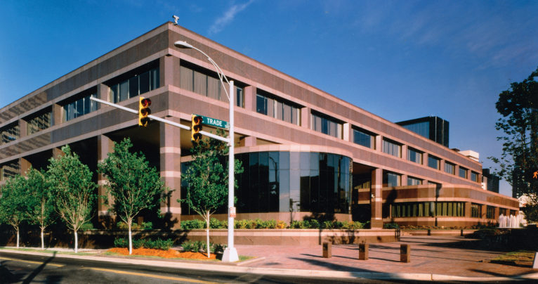 Charlotte office of the Federal Reserve Bank, or Fed. Photo courtesy of the Federal Reserve Bank