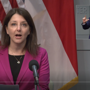 Dr. Mandy Cohen addresses outbreaks in nursing homes.